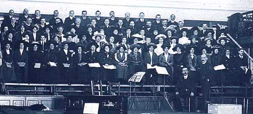 Gainsborough Choral Society back in 1860
