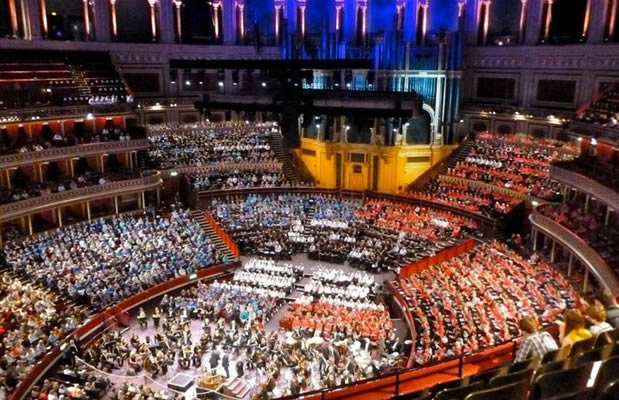 Gainsborough and Market Rasen Choral Societies at the Royal Albert Hall